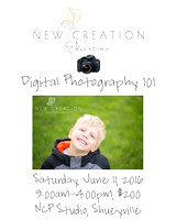 Digital Photography 101 Spring 16