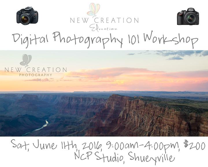 Digital Photography 101 Spring 16b